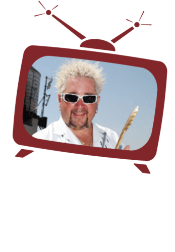 As seen on Diners, Drive-Ins & Dives