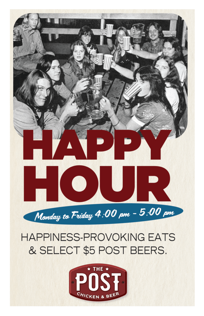 HAPPY HOUR at